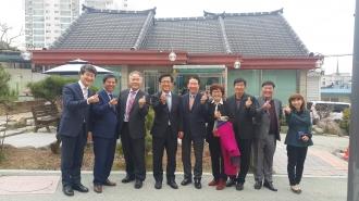 행정부시장님과 소장간담회 개최
