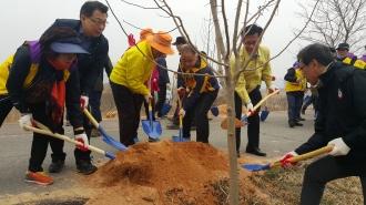 제72회 식목일 나무심기 행사 봉사활동