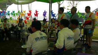 2017 무주세계태권도대회 자원봉사자 격려방문 및 대회 벤치마킹