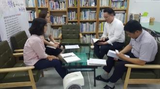 자원봉사 이그나이트 업무추진관련 실무자 회의