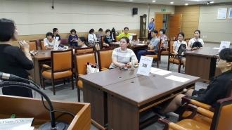 자원봉사 홍보기자단 3차 교육 및 하반기 사업논의