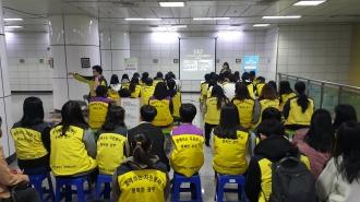 2017년 10월 자원봉사 체험존 봉사활동