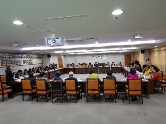 2017년 동자원봉사캠프장 평가회 개최