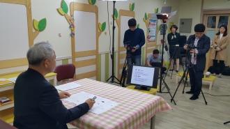광주강연플랫폼 자원봉사 교육영상(공동체는 십시일반이다) 촬영