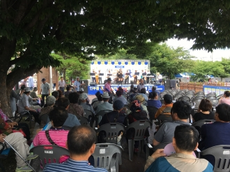 광주 서구자원봉사센터 공유로 와글와글 재능공유박람회 격려방문