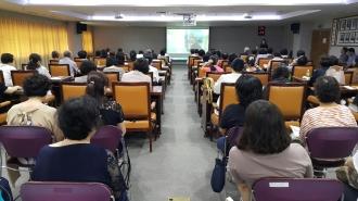 전국자원봉사공동행동 독거노인 안부묻기 자원봉사자 교육실시