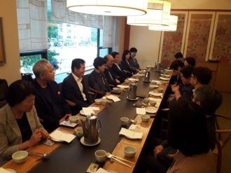 시민사회수석비서관 주재 자원봉사 관계자 간담회 참석