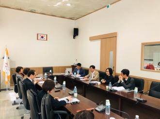 광주광역시·구자원봉사센터 소장, 사무국장 간담회 진행