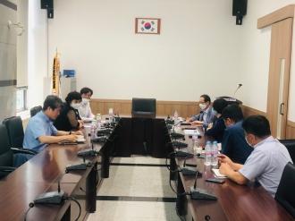 광주광역시구자원봉사센터 소장단 코로나19 대응 긴급 간담회 진행