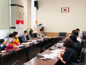 광주광역시구자원봉사센터 소장사무국장 9월 연석회의 개최