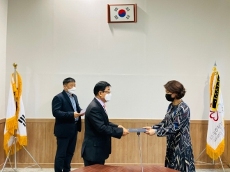 광주광역시자원봉사센터 신규직원 임명장 수여식