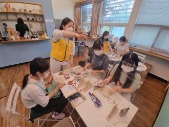 빛고을청년봉사단의 청소년 자원봉사 1Day 선포식 활동