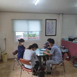 아파트 거점 봉사단 활성화를 위한 현장 모니터링 진행